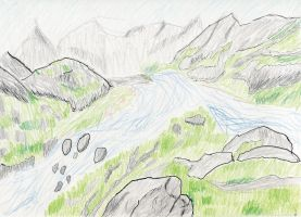 Mountains by Tovath