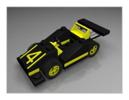 Lego Street Racer 1631 With 4 by neilwightman