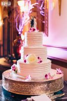 Ari and Laura Wedding Cake by MavilaPhotography