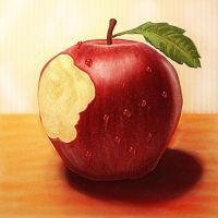 Apple by Julie-Tr