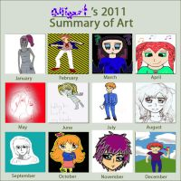 2011 Art Summary by alligart