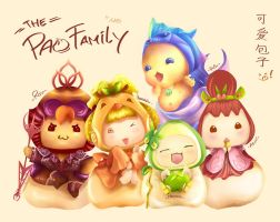 The Pao Family by ilustramagi