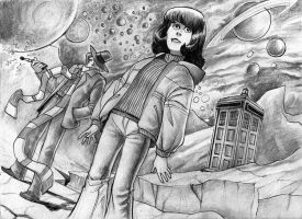 Doctor Who by MiloNeuman