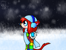 Snow time by CaffeineCoated