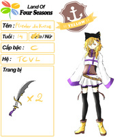 LandOf4Seasons - Yellow - Flieder die Katze by code-name-327