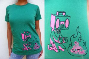 boomboxhead tshirt pictures by 231705