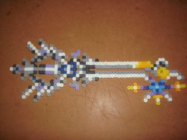 Oath keeper keyblade by ChibiPixelPuppy