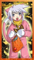 Happy Halloween - Genis Sage by eeveelover