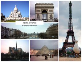 Postcard - Paris, France by jpgmn