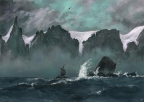 Sailing by the seven sisters by Silberius