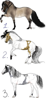 Horse Adoptables by LittleHooves