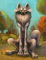 A wolf named Bob by Andrei-Sitari
