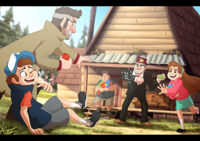 Pines Family Fun by Nightrizer