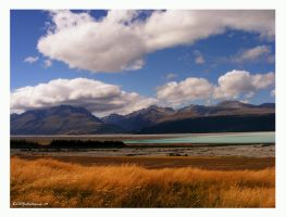 Camino a Mount Cook by WeltKatastrophe