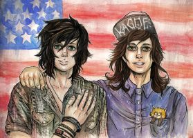 Kellin and Vic by Kagoe