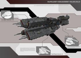 CapitalShip - Dreadnought - Class Atlas by Lock-Mar
