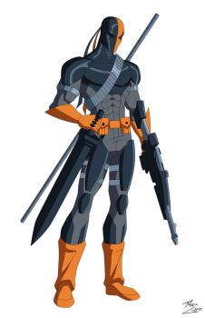 Deathstroke by phil-cho