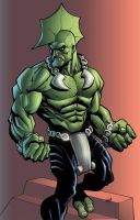 wya's savage dragon colored by shalomone