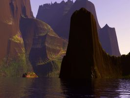 Fantastic Chasm by indriojan
