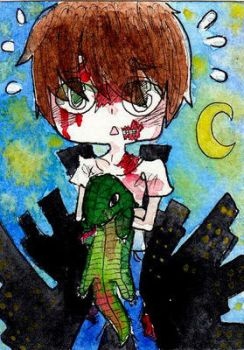 Zombieboys need lizards by lunatic-love