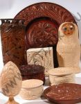 Few woodcarving items by tatianka-ru