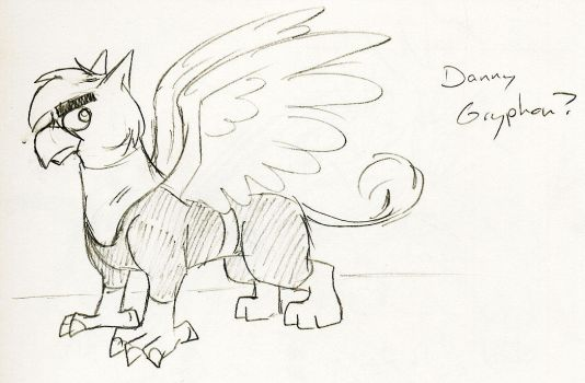 Danny Gryphon by whitegryphon