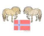 Norge by caligis