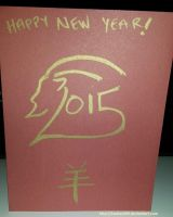 Lunar New Year Cards 2015 by TsuKaza90