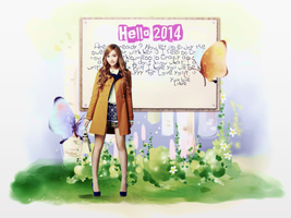 Wallpaper Jessica - For Jen by Luhye