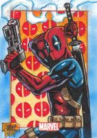 MARVEL 75th - DEADPOOL by JASONS21