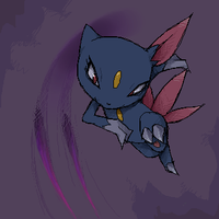 Sneasel by stardroidjean