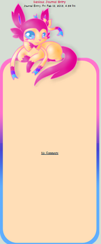 Sylveon Journal Skin by AbyssinChaos