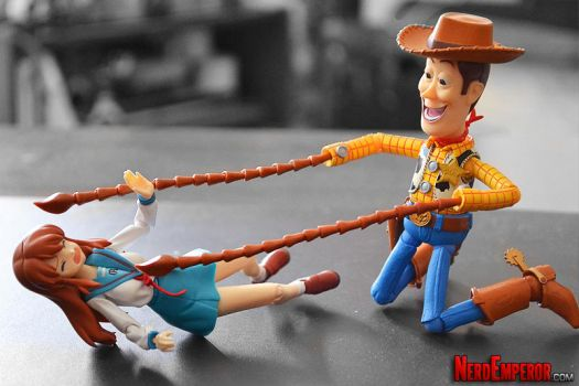 Mikuru Gets Woody'd: Part II (Now With Tentacles!) by ZaEmpera