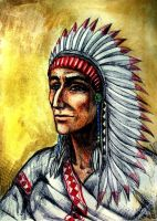Indian's Chief by elicenia