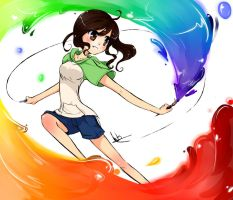 Rainbow Paint! by wiissbb123600