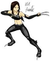 X-23 by VGAfanatic
