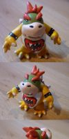 Bowser Jr Figurine by Jelle-C