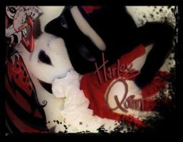 me as harley quinn :D by OpheliaImmortal7