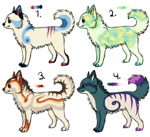 Canine Adoptables -#2 left! reduced price!- by SummerAdopts