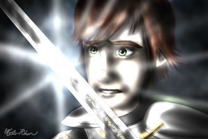 Hiccup's Quest - The Sword by masterrohan