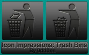 Icon Impressions- Trash by 0dd0ne