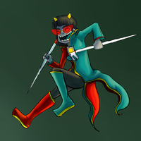 Happy Terezi by ulgyashell