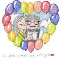 I want to grow old with you by YuniNaoki