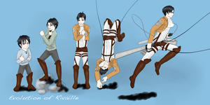 Rivaille's Evolution by KAI314