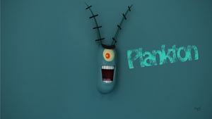 Plankton Wallpaper by TheBigDaveC