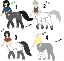 Niteo x Taliyah Foals - Closed by KittehzAdopts