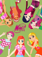 Winx Club Group Anime Style by Cupcake-Pixie