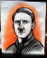 Hitler by Sabellian