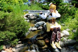PMMM: Mami Tomoe- Take Aim by BlackRoseMikage