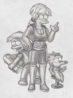 Maggie, Maggie and...Maggie. by simpspin